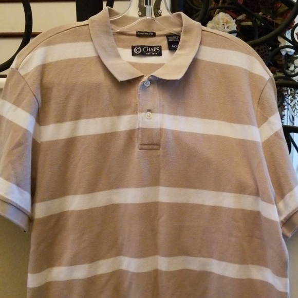 NWT Assorted sizes//colors CHAPS Men/'s Big /& Tall Short Sleeve SS Polo Shirts